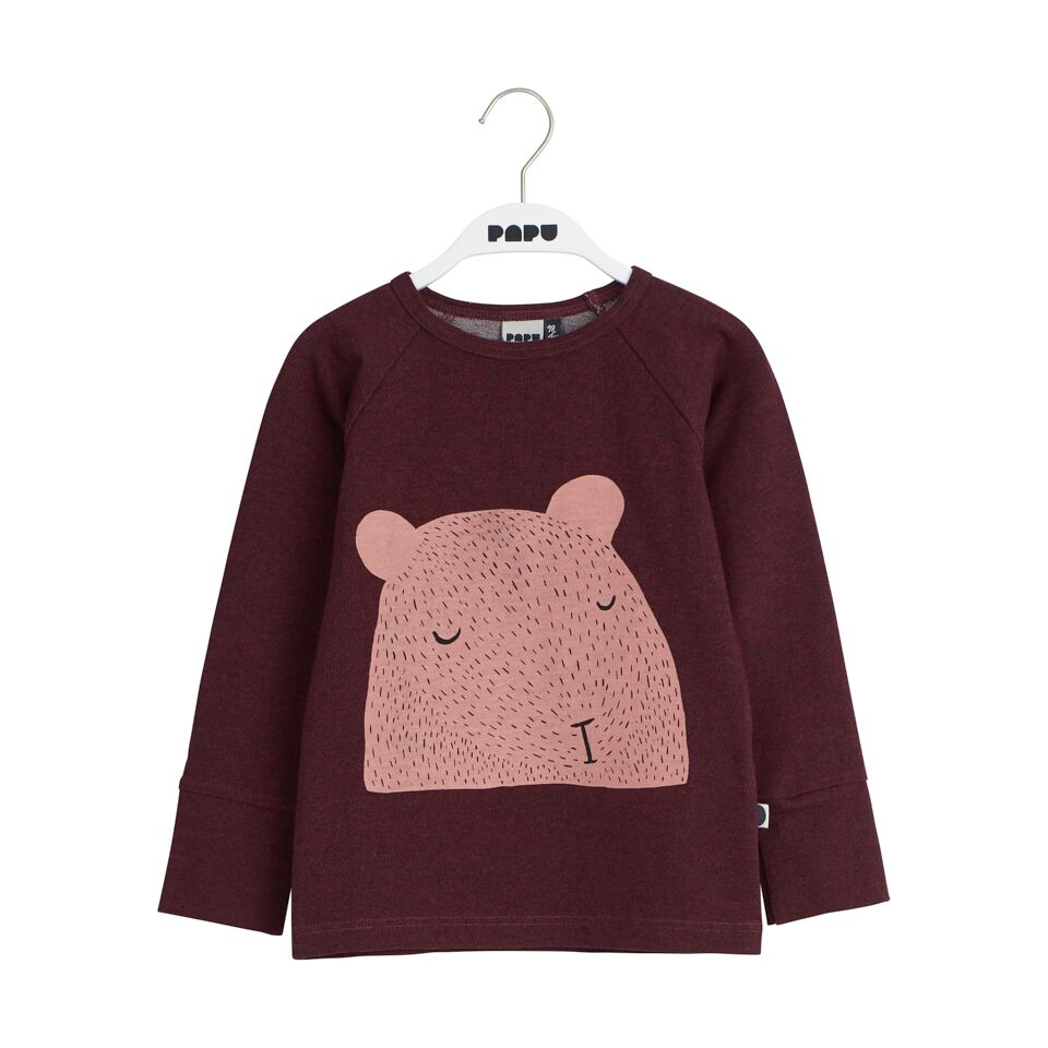 PAPU SLEEPING BEAR LS, TILE MELANGE