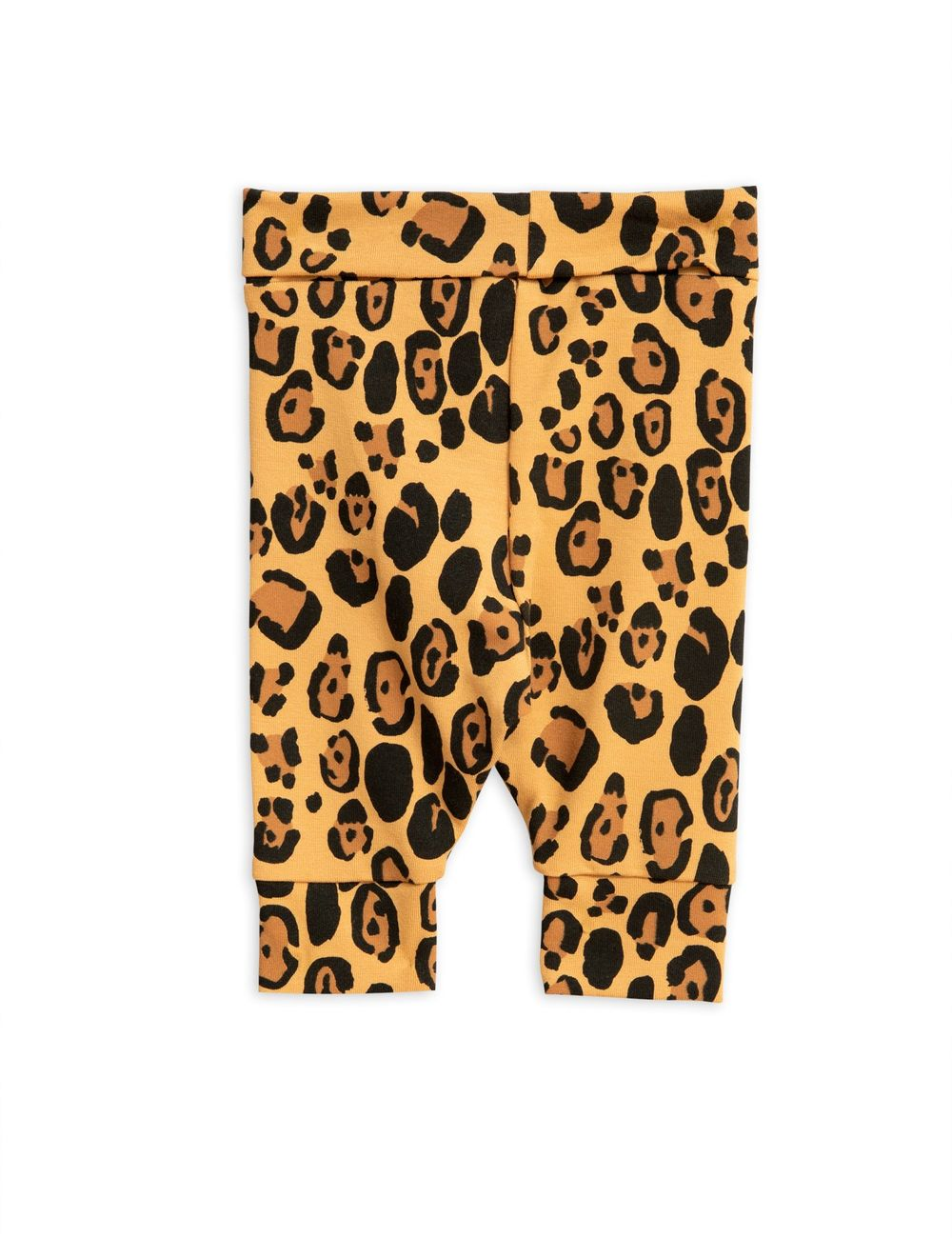 MINI RODINI BASIC LEOPARD NB LEGGINGS, BEIGE