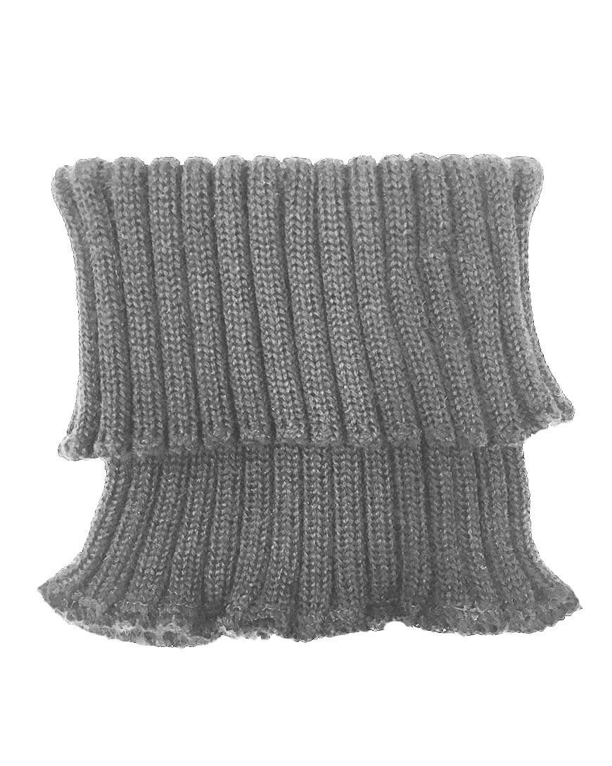 MAINIO NECKWARMER, MEL.GREY