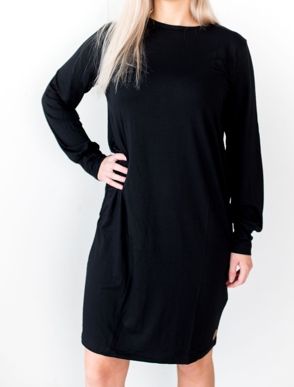 BLAA PRISTINA DRESS, BLACK