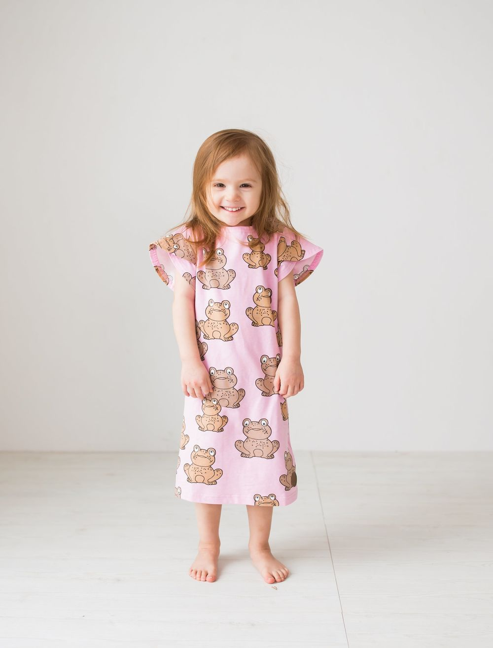 BLAA CLARA DRESS, FROG LAVENDER