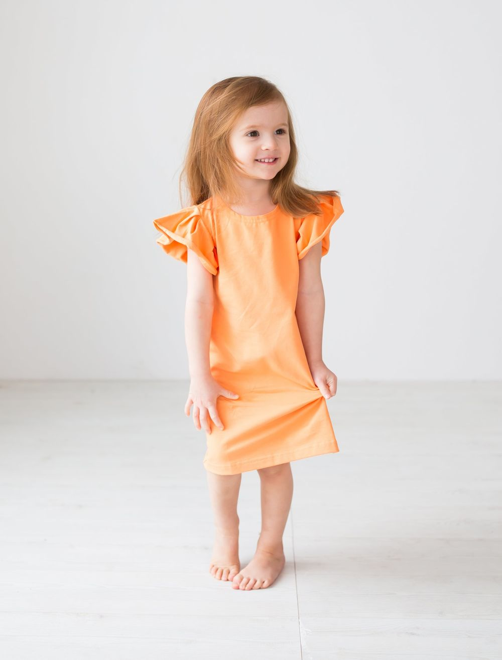 BLAA BALTIMORE DRESS, PEACH