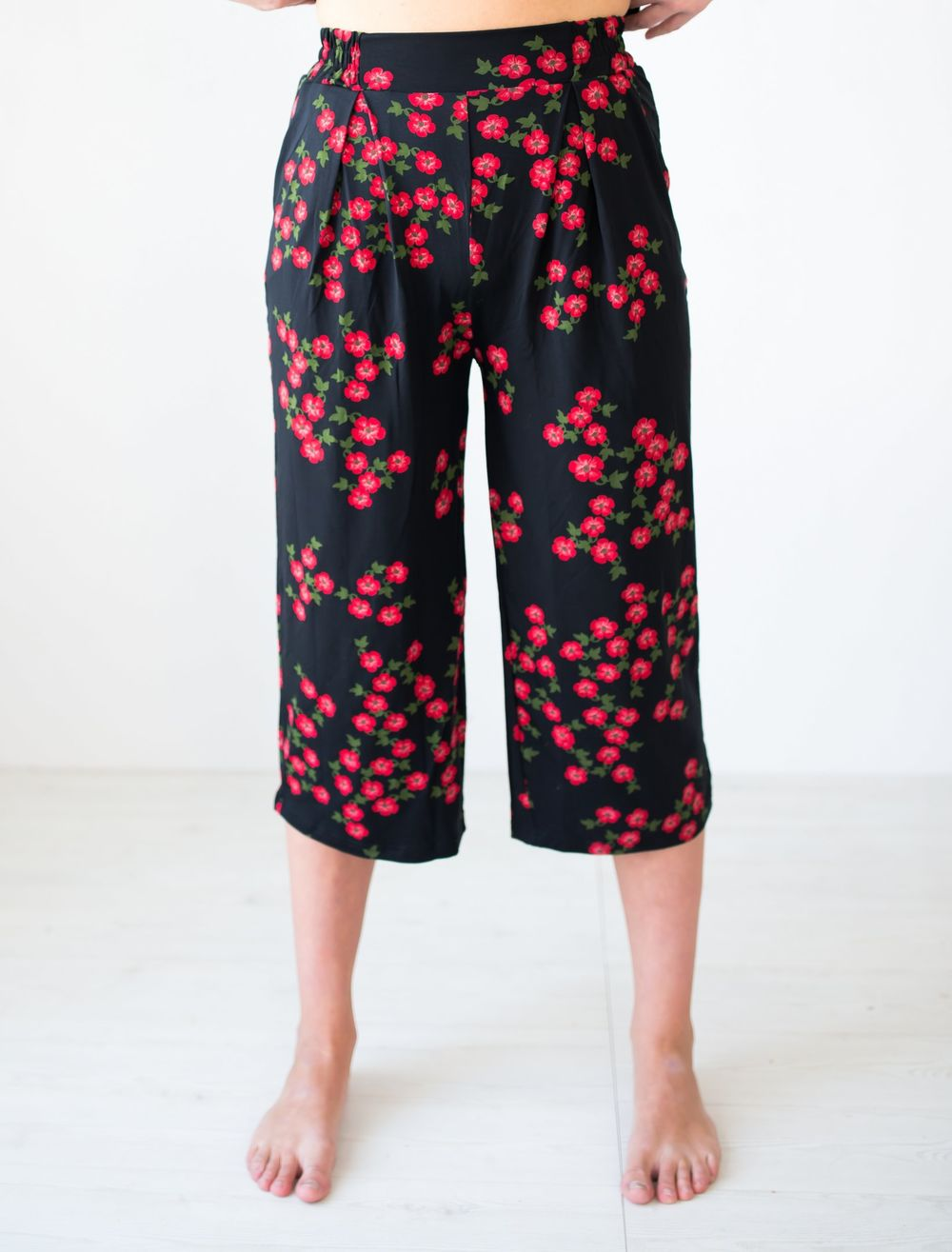 LISBON Culottes Housut, Meadow