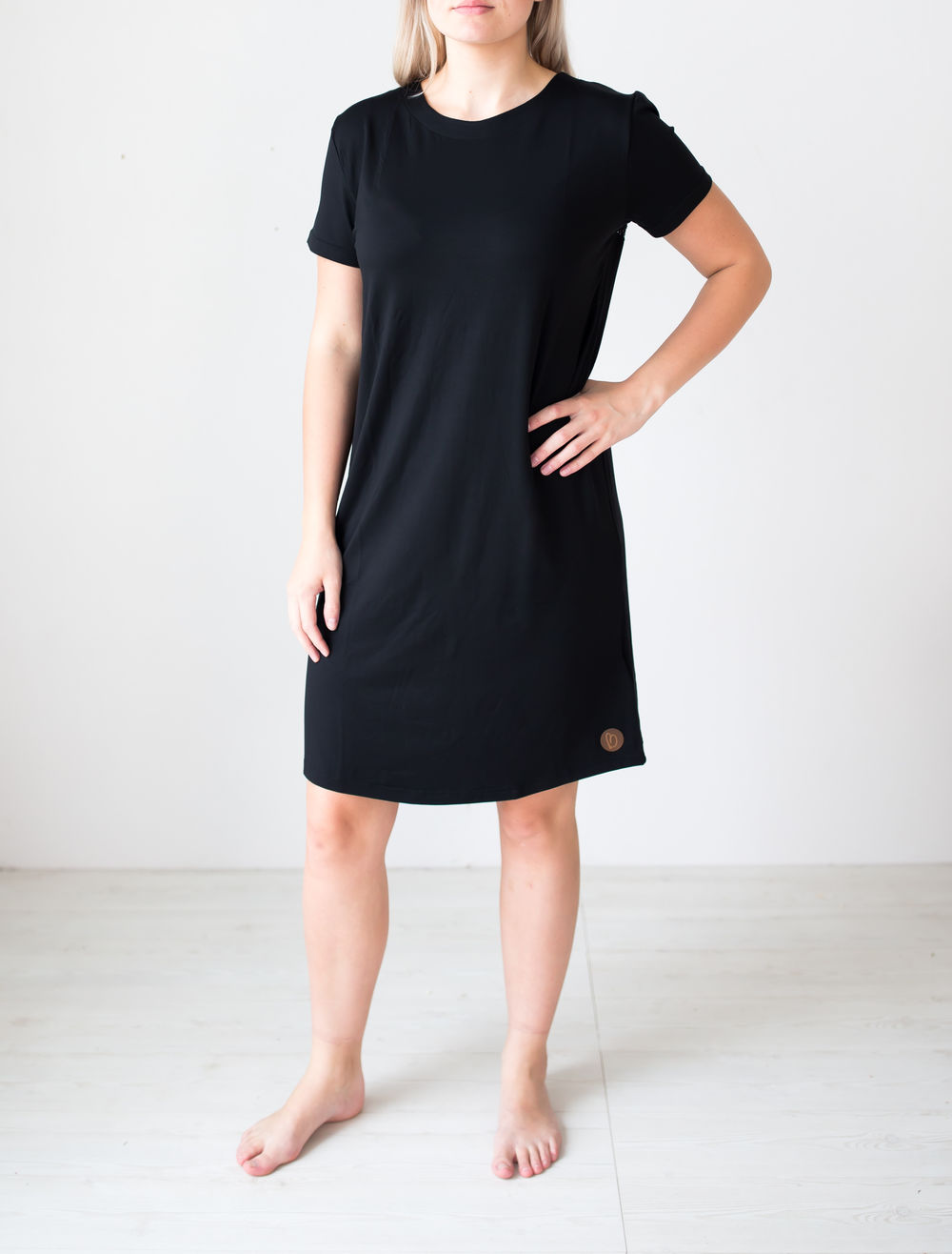 BLAA HIPPA WOMAN DRESS, BLACK
