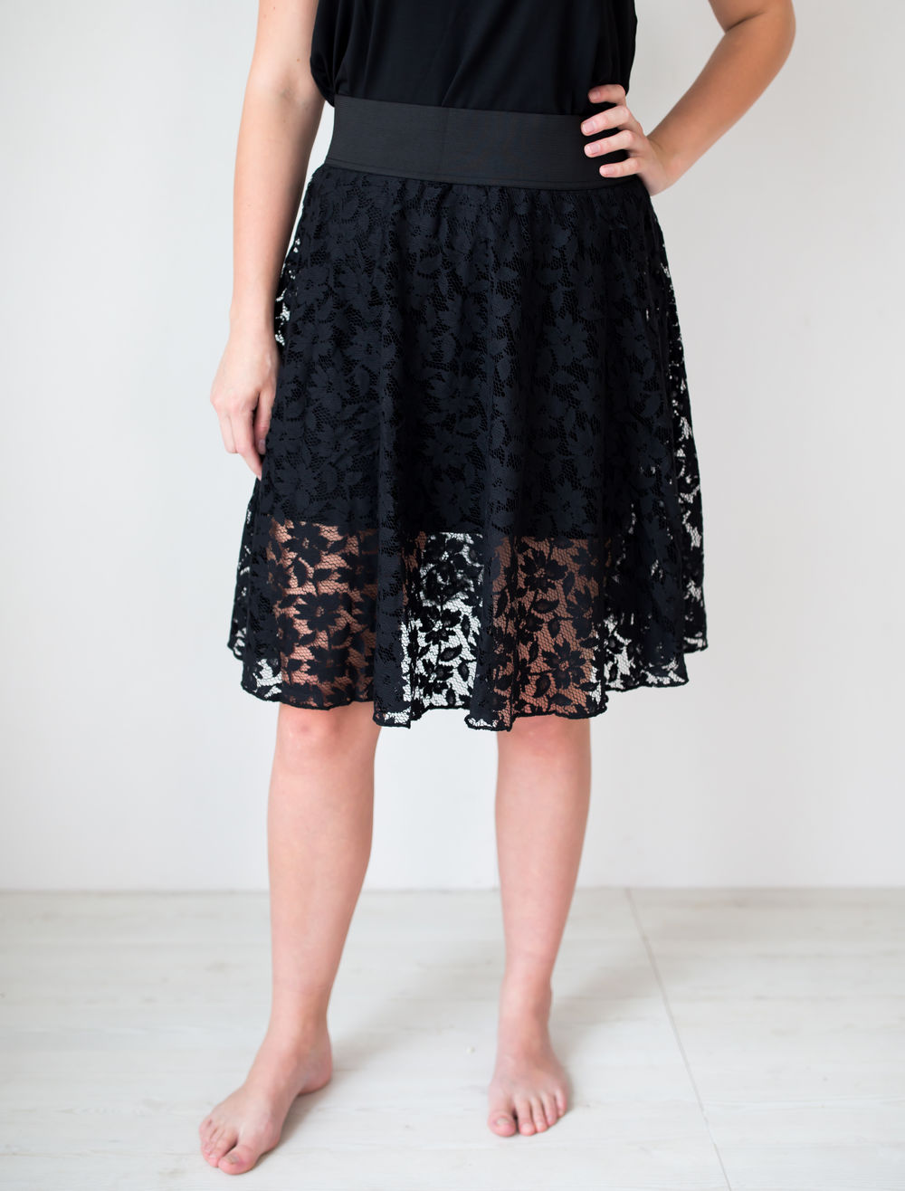 BLAA BILBAO WOMAN SKIRT, BLACK