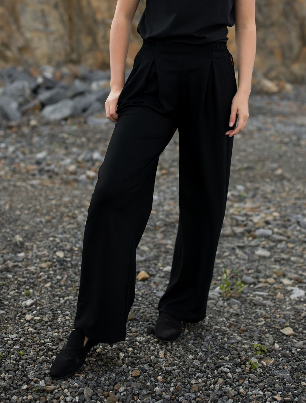 BLAA LOGAN PANTS L76, BLACK