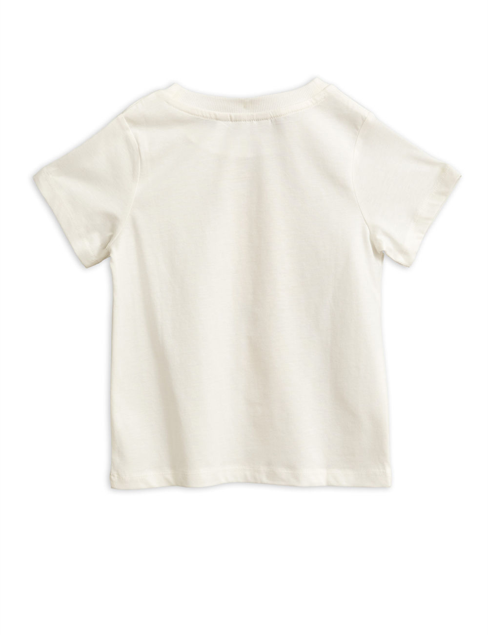 MINI RODINI PARROT SP SS TEE,  WHITE