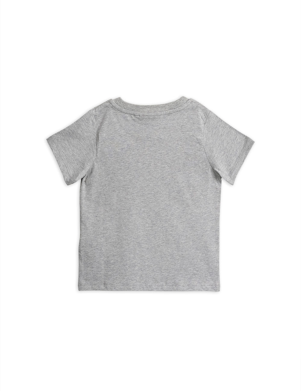MINI RODINI POP CORN SS TEE, GREY MELANGE