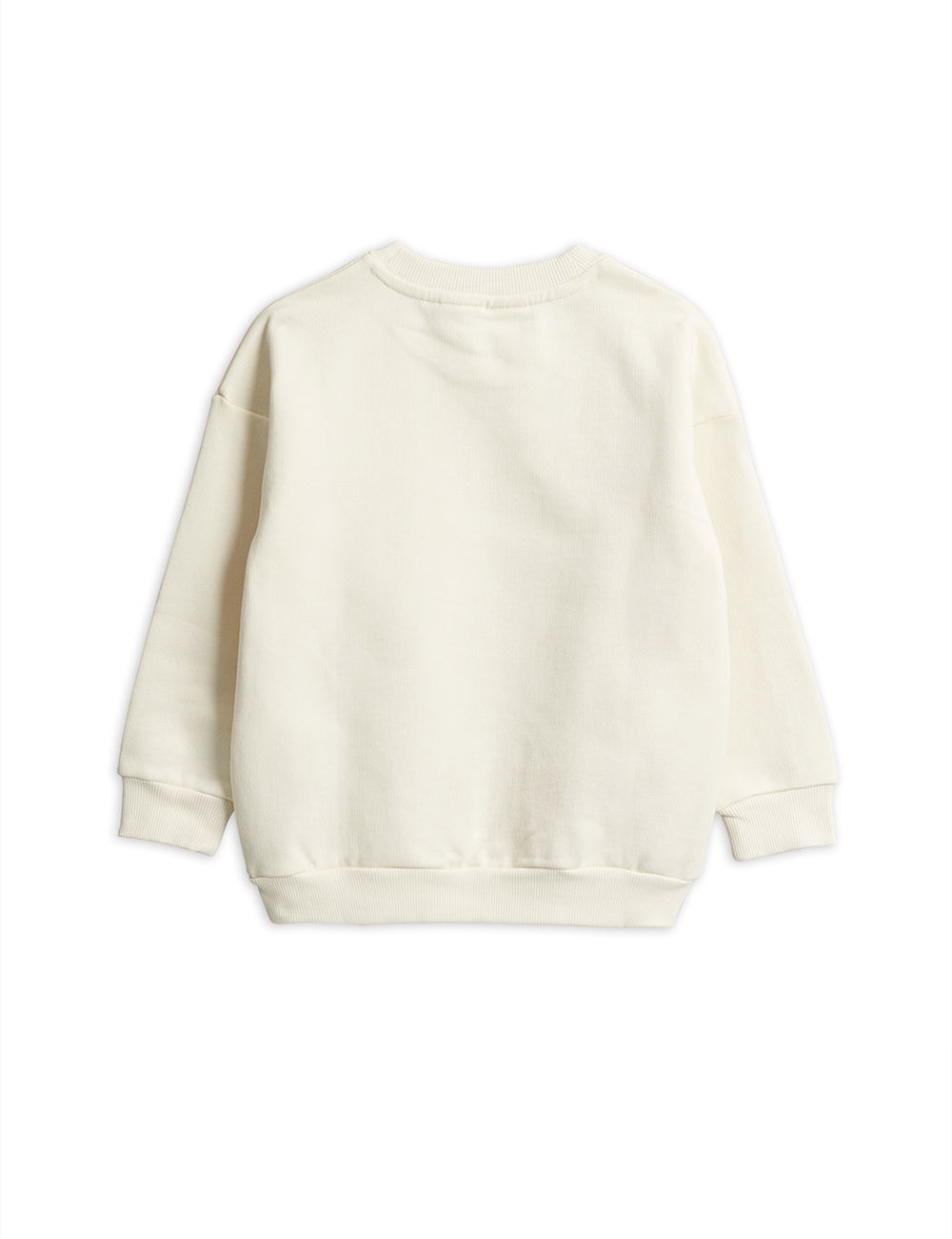 MINI RODINI POP CORN SWEATSHIRT, OFFWHITE