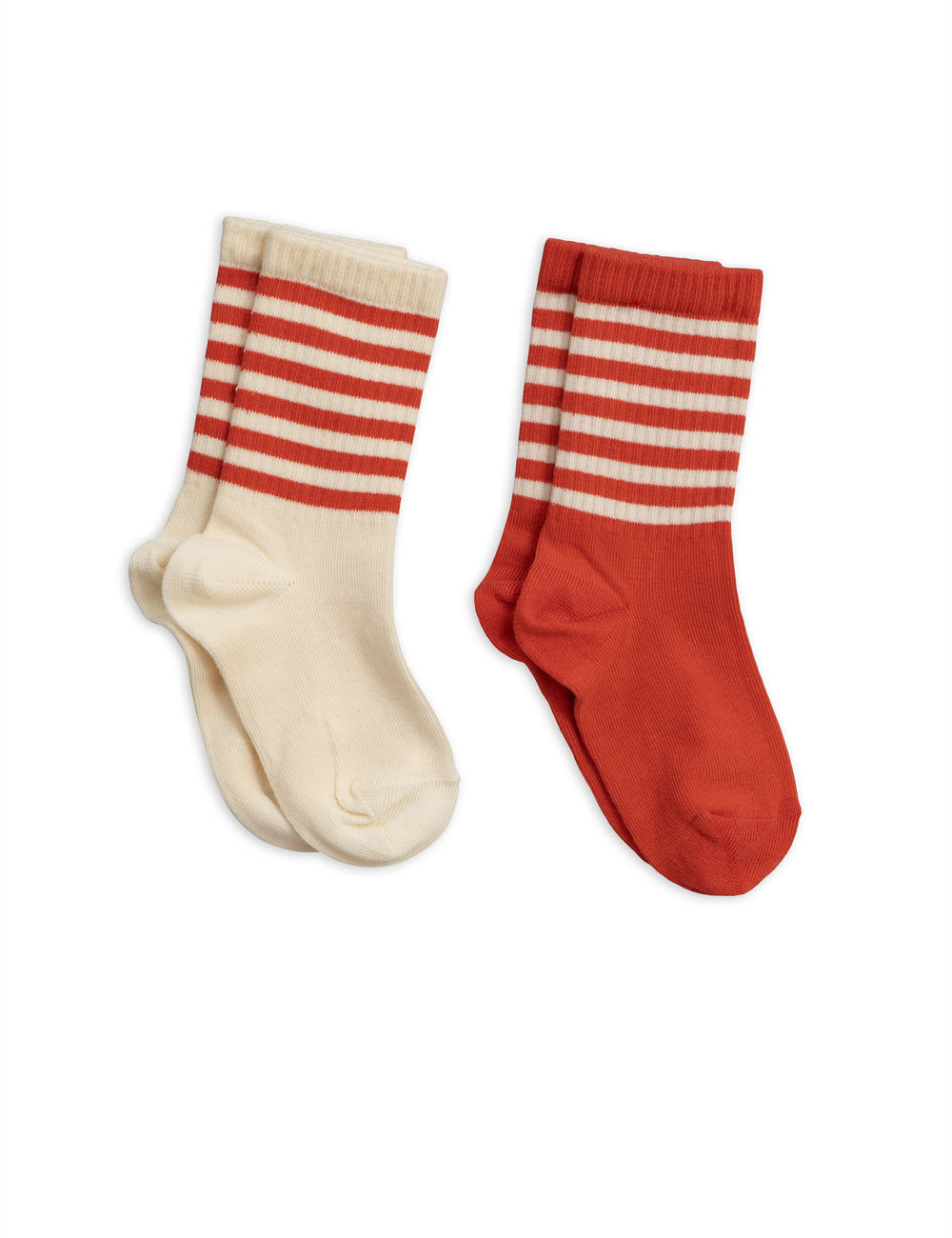 MINI RODINI 2-PACK SOCKS, RED