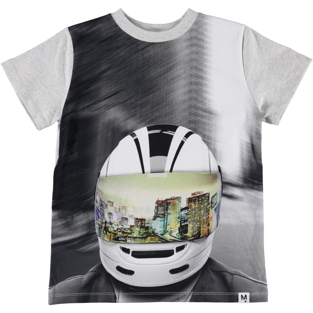 MOLO ROAD T-SHIRT, MC HELMET