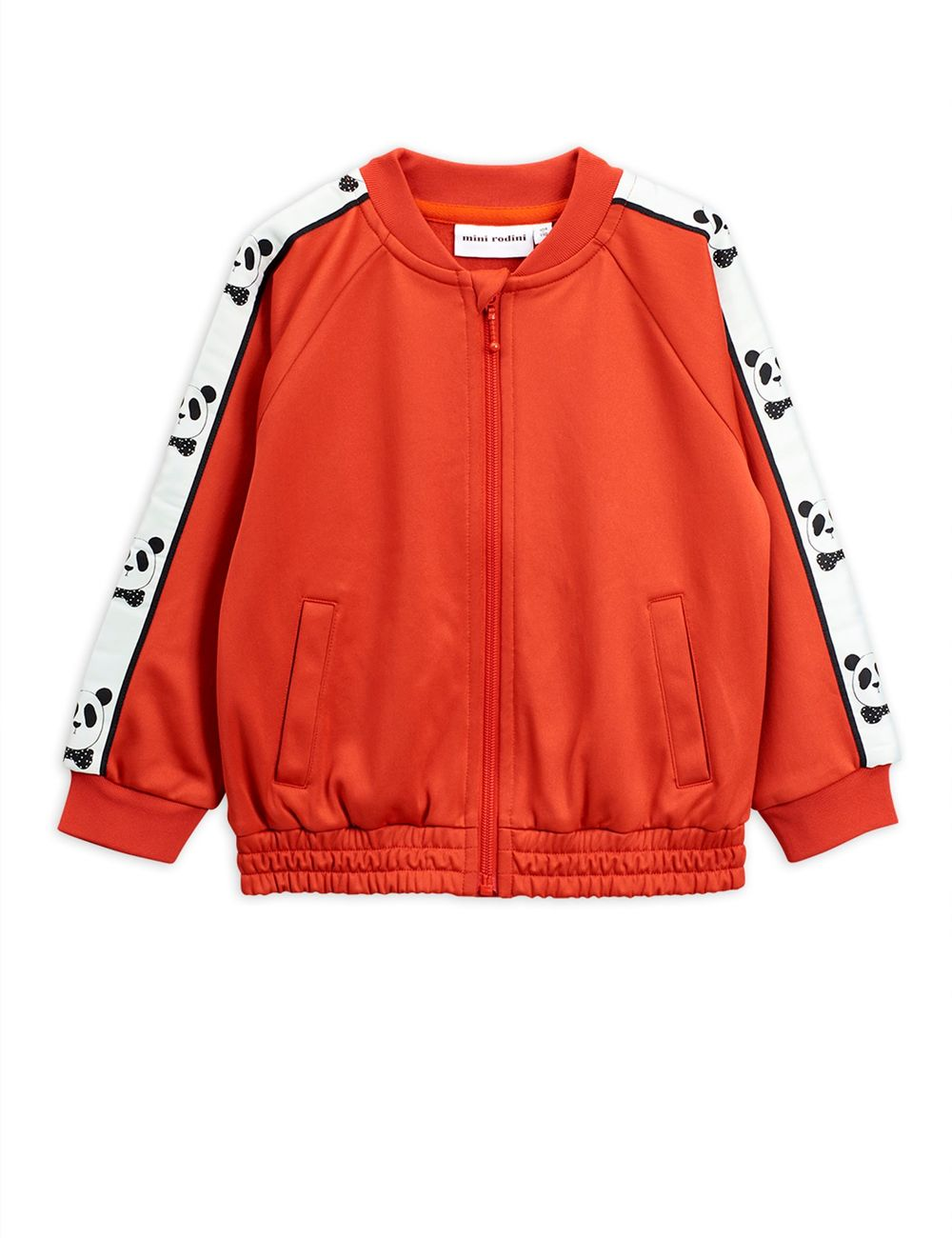 MINI RODINI PANDA WCT JACKET, RED