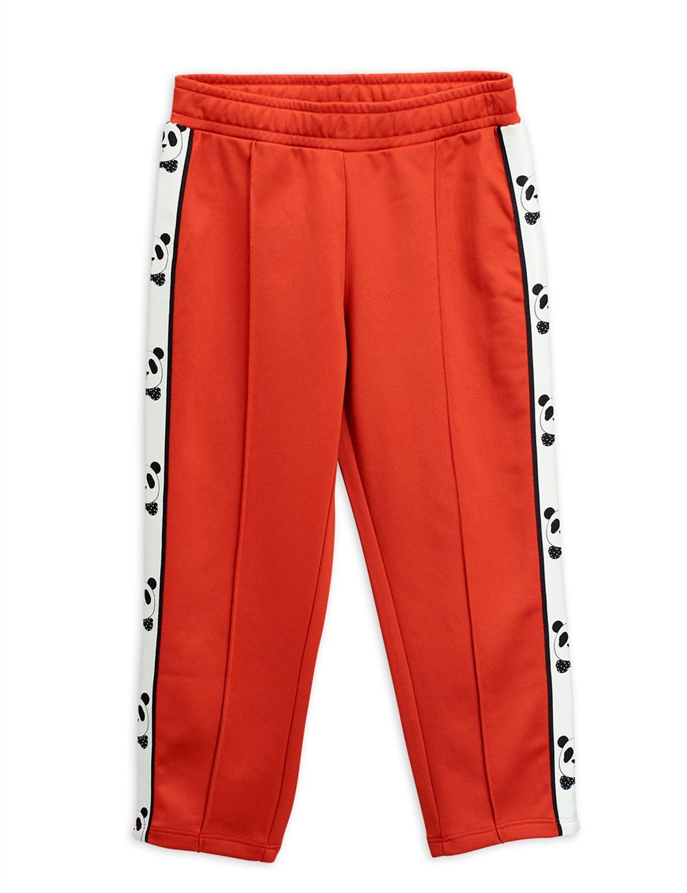 MINI RODINI PANDA WCT TROUSERS, RED