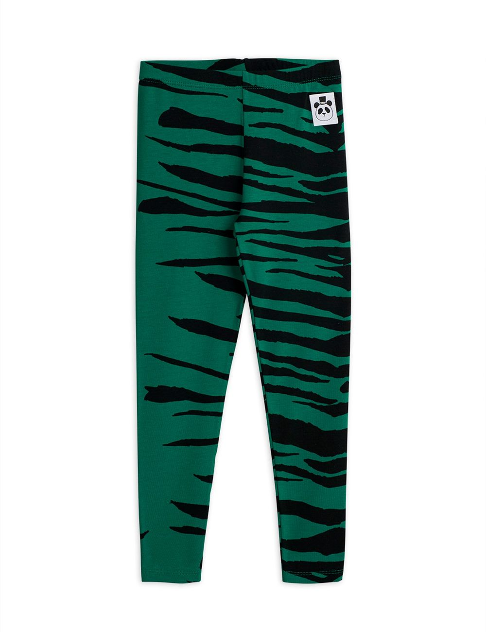 MINI RODINI TIGER LEGGINGSIT, GREEN