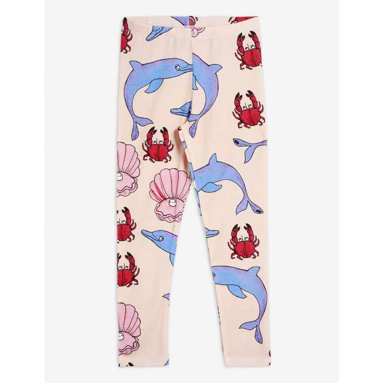 MINI RODINI DOLPHIN LEGGINGS, MULTI