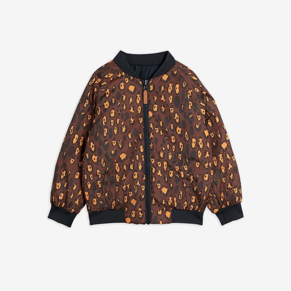 MINI RODINI LEOPARD INSULATOR JACKET, BL