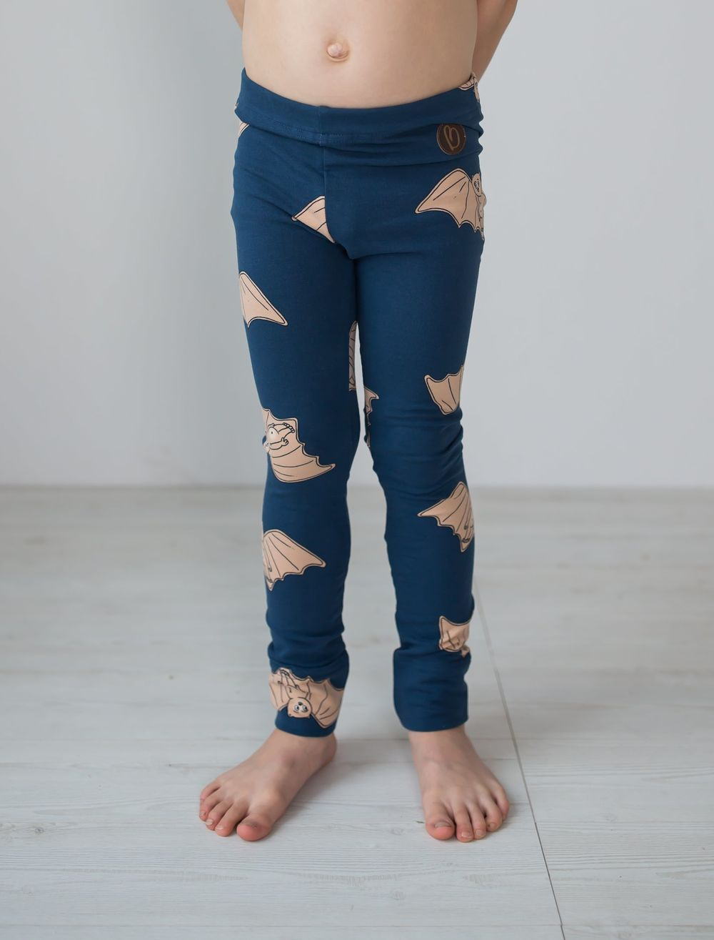 BLAA PARIS COLLEGE LEGGINGS, BAT NIGHT BLUE