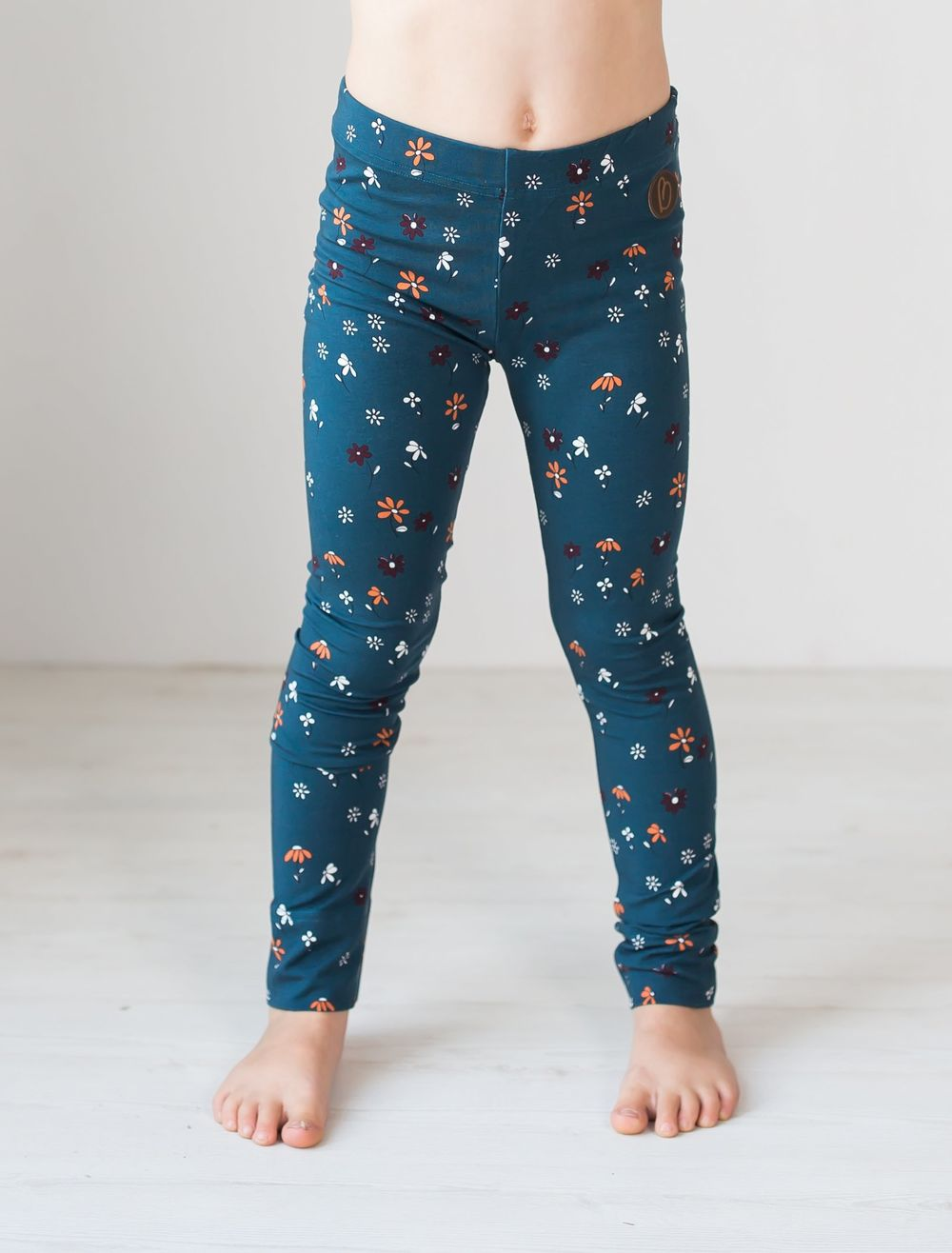 BLAA PARIS LEGGINGS, FLOWER PETROL
