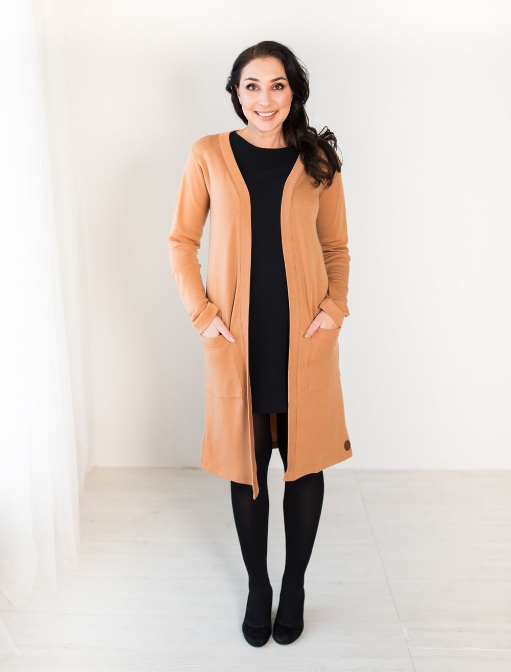 BLAA MARGOTE LONG JACKET, BRAN
