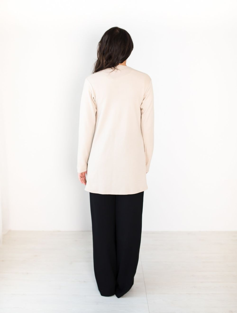 BLAA ENKELT LONG JACKET, MOONLIGHT