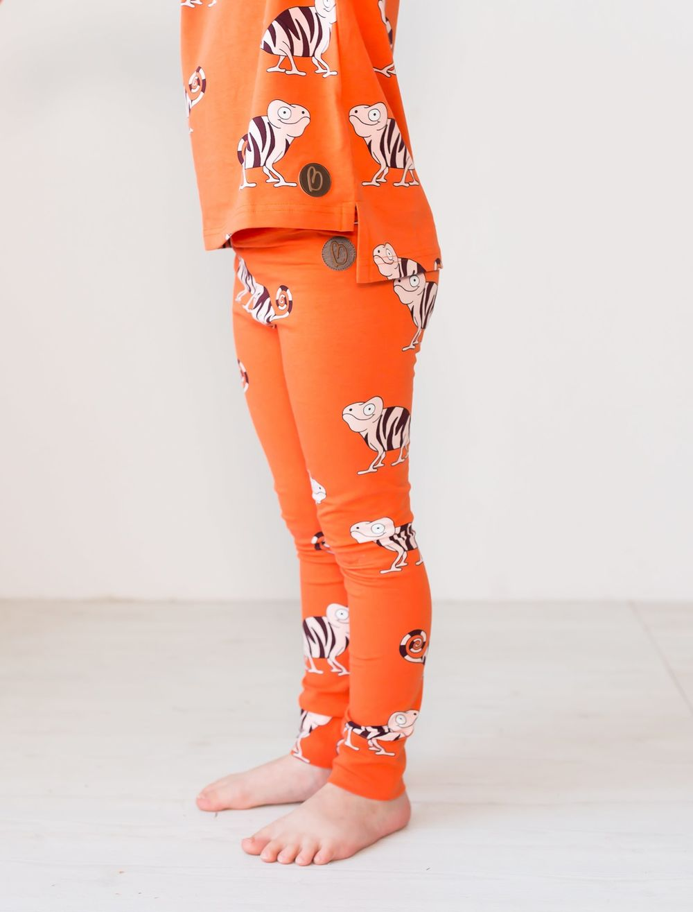 BLAA PARIS LEGGINGSIT, CHAMELEON ORANGE