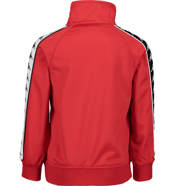 KAPPA TRACK JACKET, RED-BLK-WHITE
