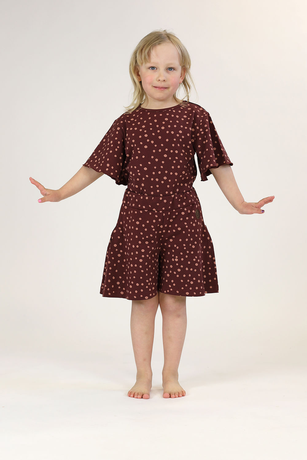 SAFARA Shortsit, Dot Brown