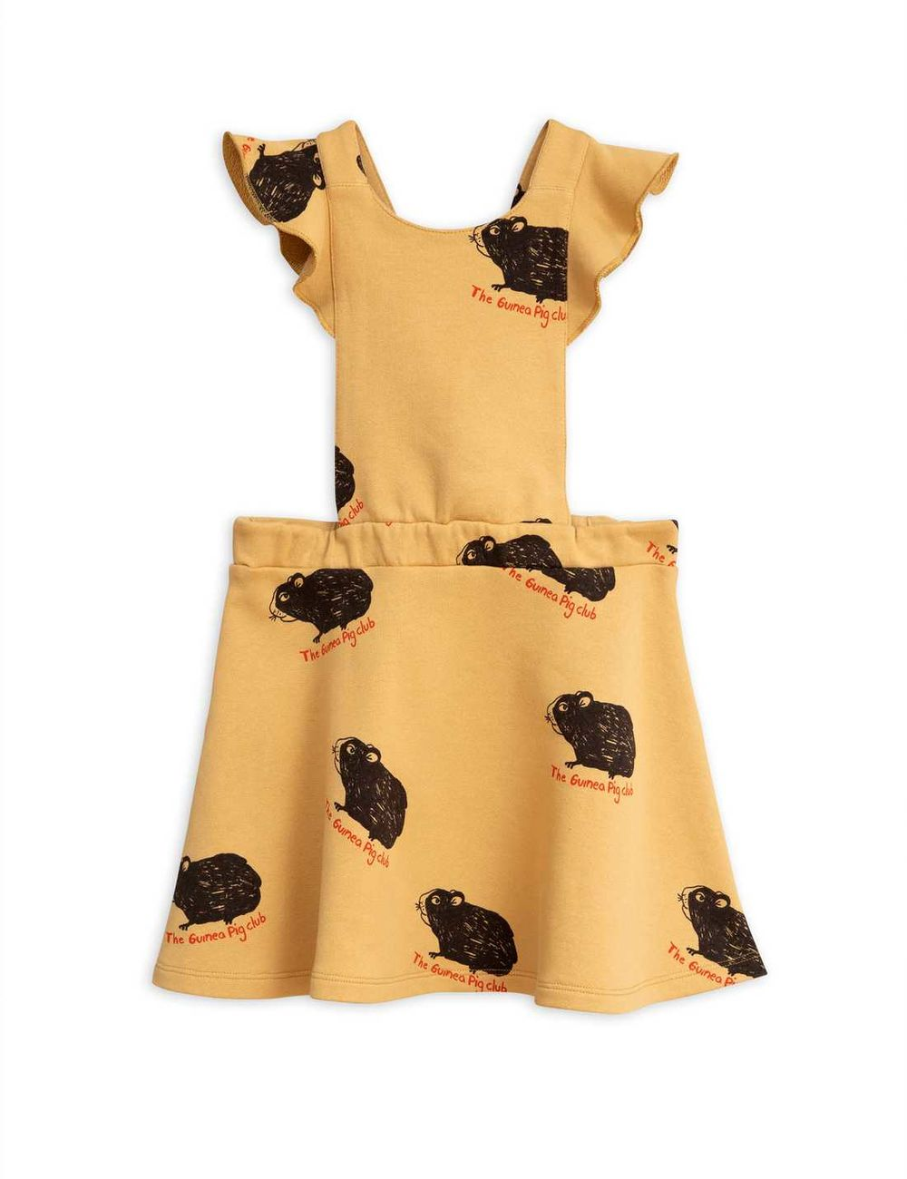 MINI RODINI GUINEA PIG DRESS, BEIGE