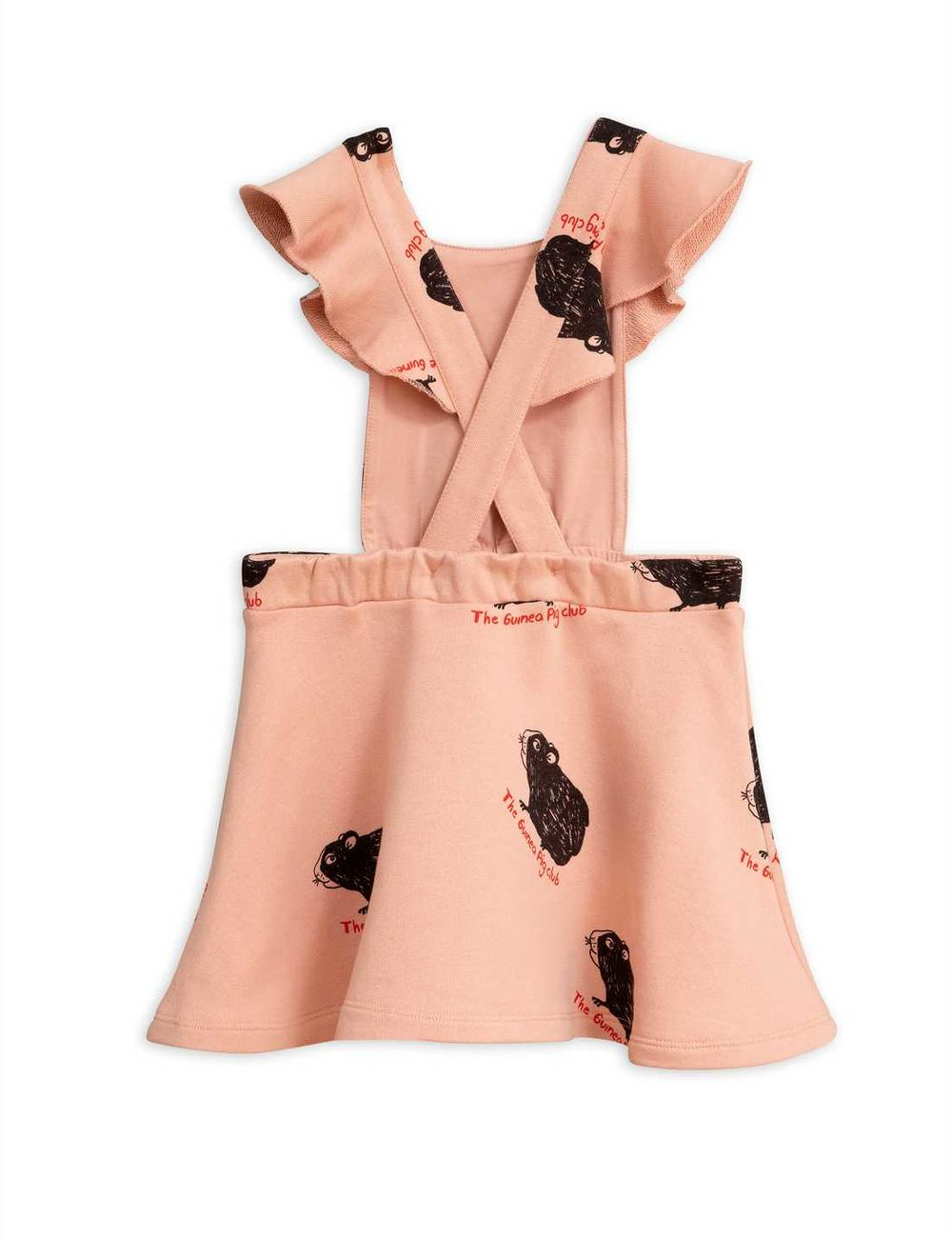 MINI RODINI  GUINEA PIG DRESS, PINK