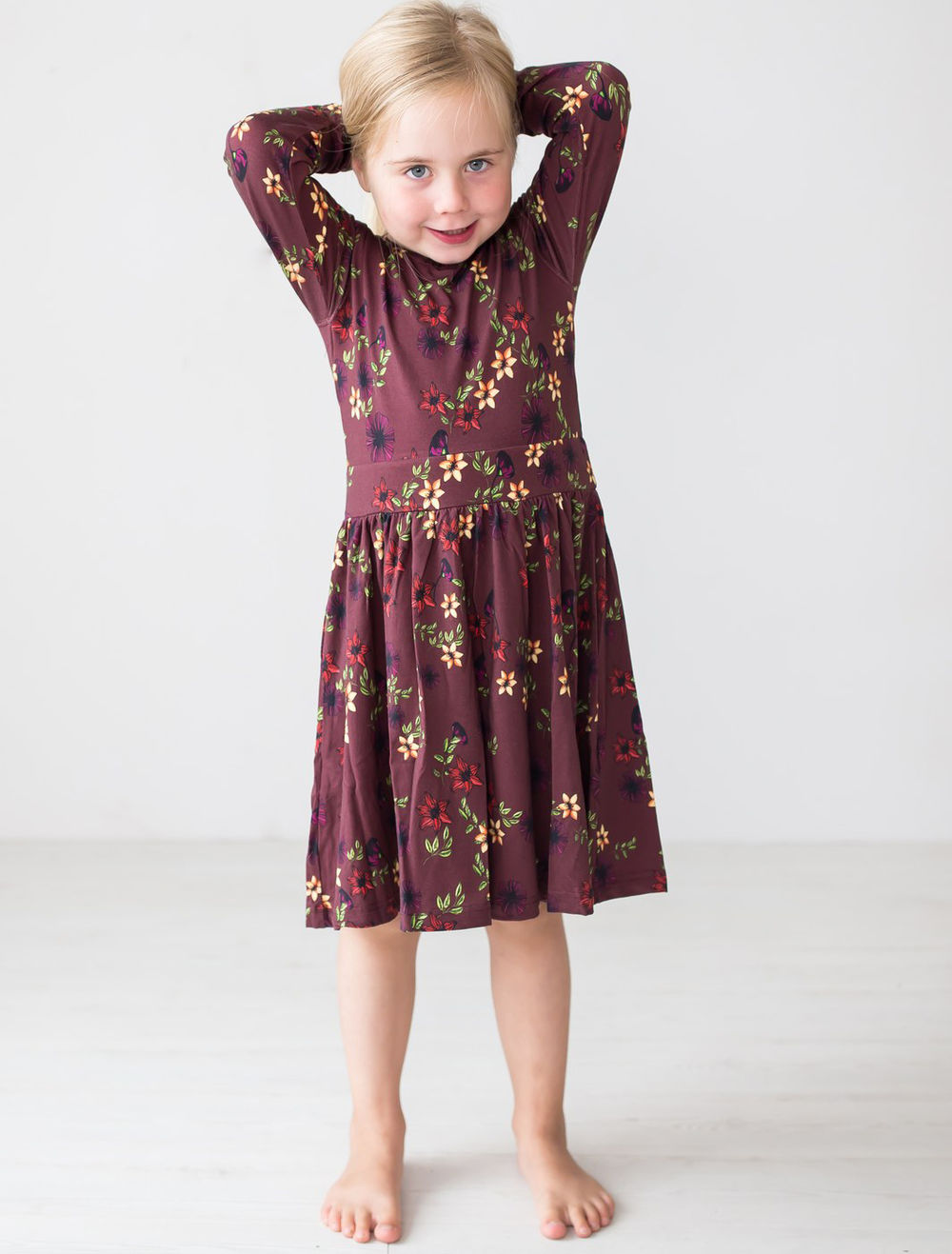BLAA FLORENCE DRESS, BOUQUET