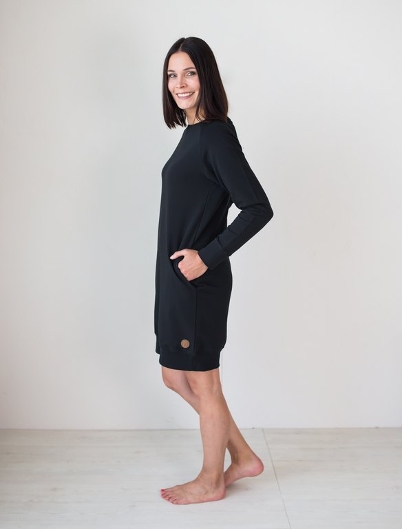 BLAA PHILADELPHIA TUNIC, BLACK