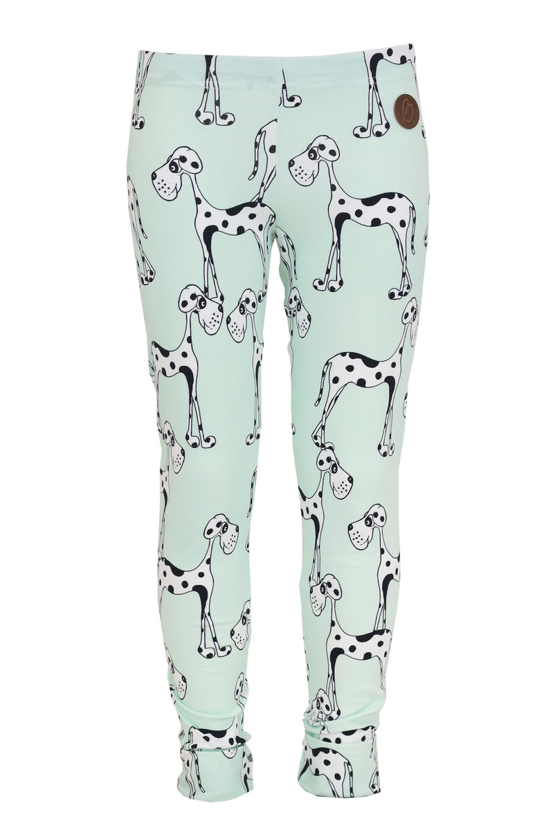 PARIS Leggingsit, Dog Green