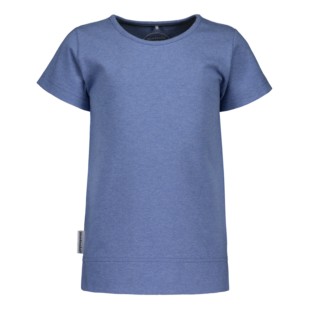 METSOLA TRICOT BASIC T-SHIRT SS,DARK DENIM