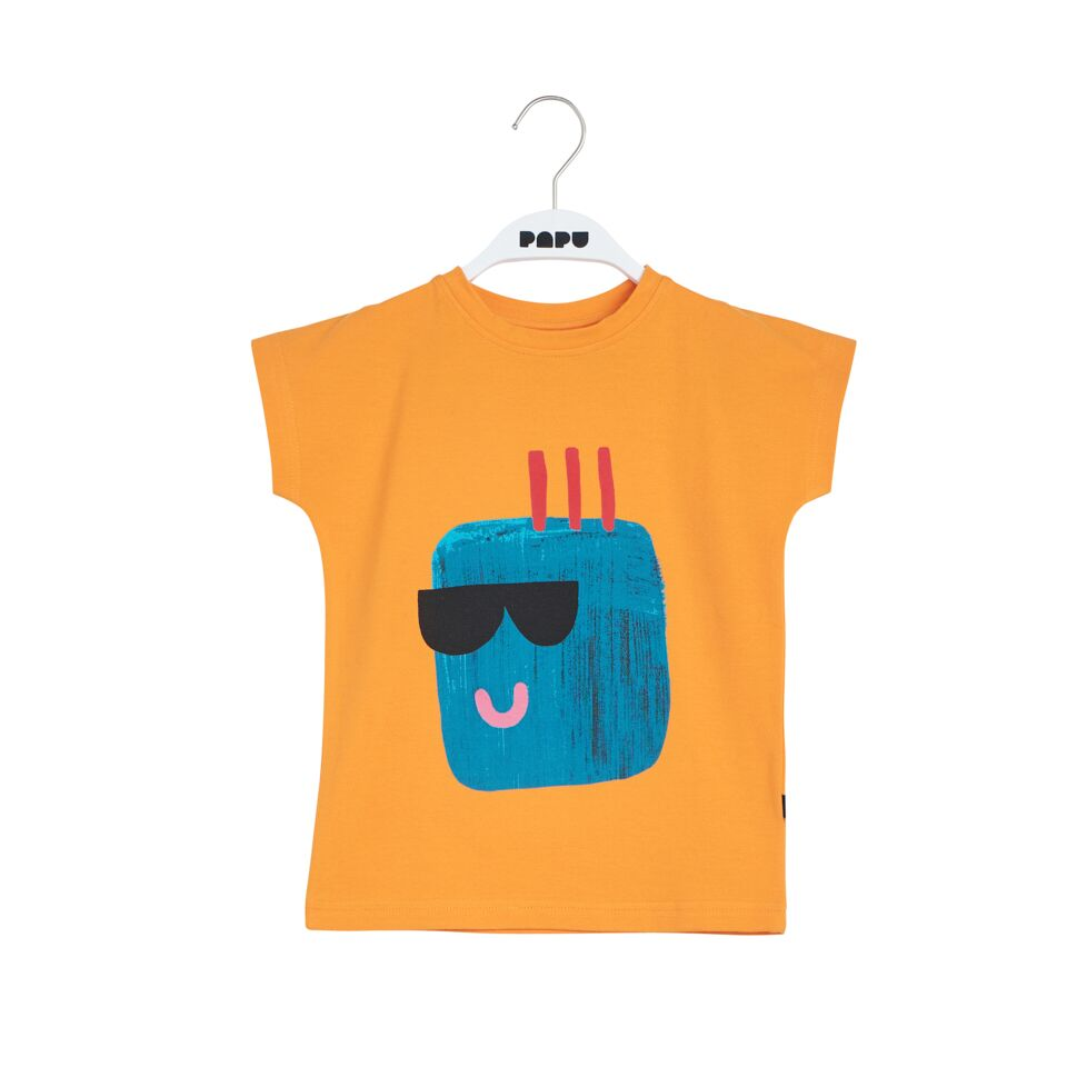 PAPU GUNTHER T-SHIRT, BRUSH ORANGE