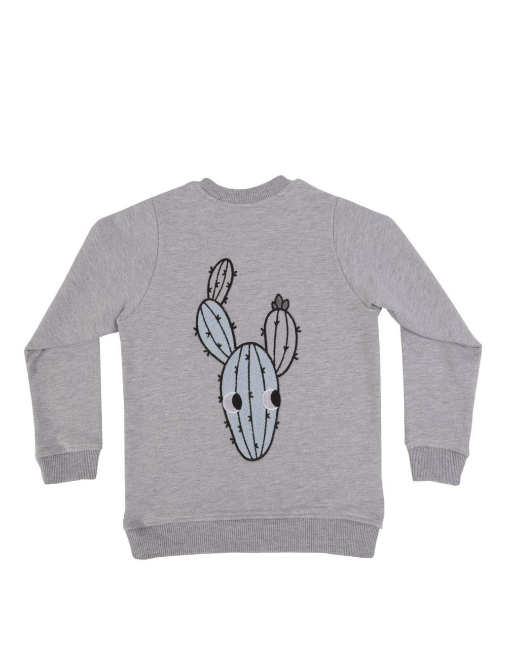 DEAR SOPHIE GREY CACTUS BOMBER
