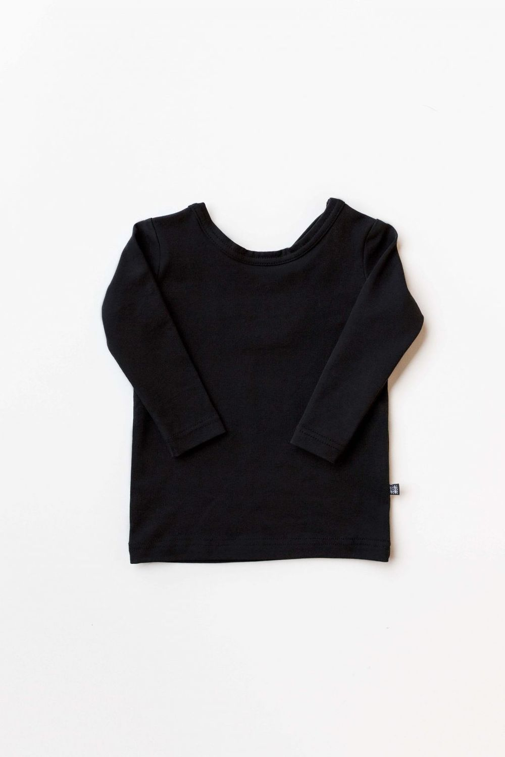 KAIKO CROSS SHIRT LS, BLACK