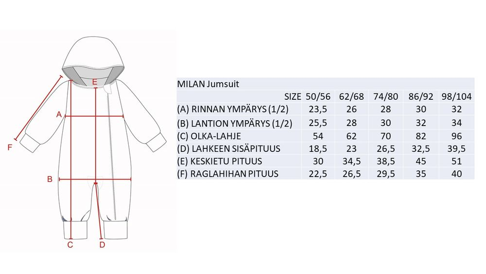 MILAN Jumpsuit collegehaalari, Penquin Brown