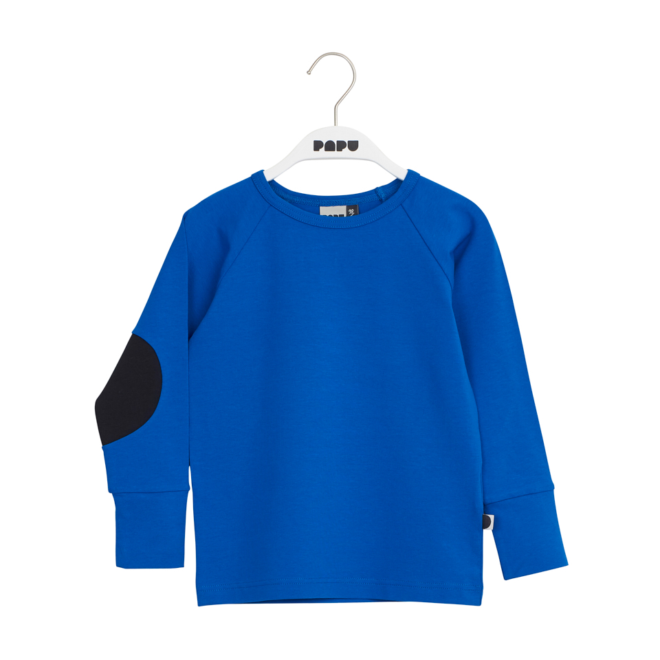 PAPU PATCH SHIRT, VIVID BLUE/BLACK