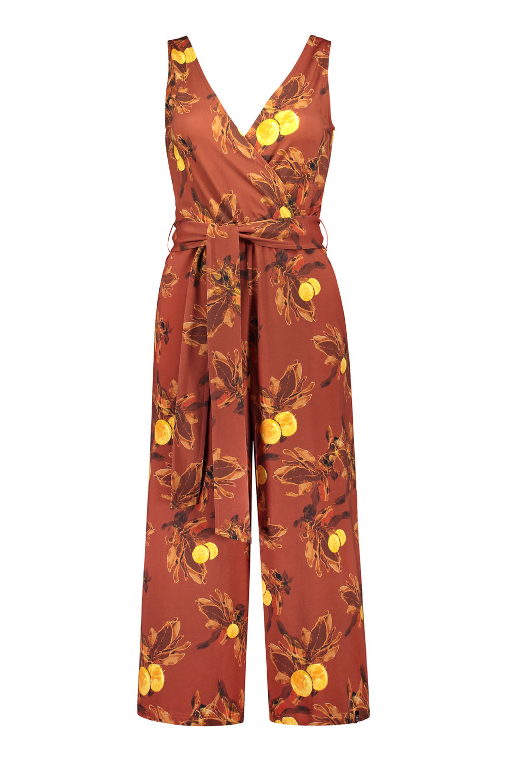 KAIKO WOMEN JUMPSUIT, AMBER ORANGE