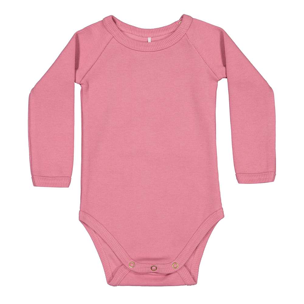 METSOLA RIB LS BODY, WILD ROSE