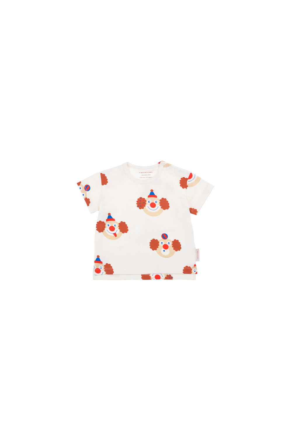 TINY COTTONS,  CLOWNS SS TEE
