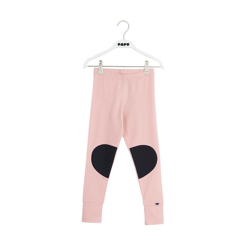 PAPU PATCH LEGGINGS, POW PEACH/BLK