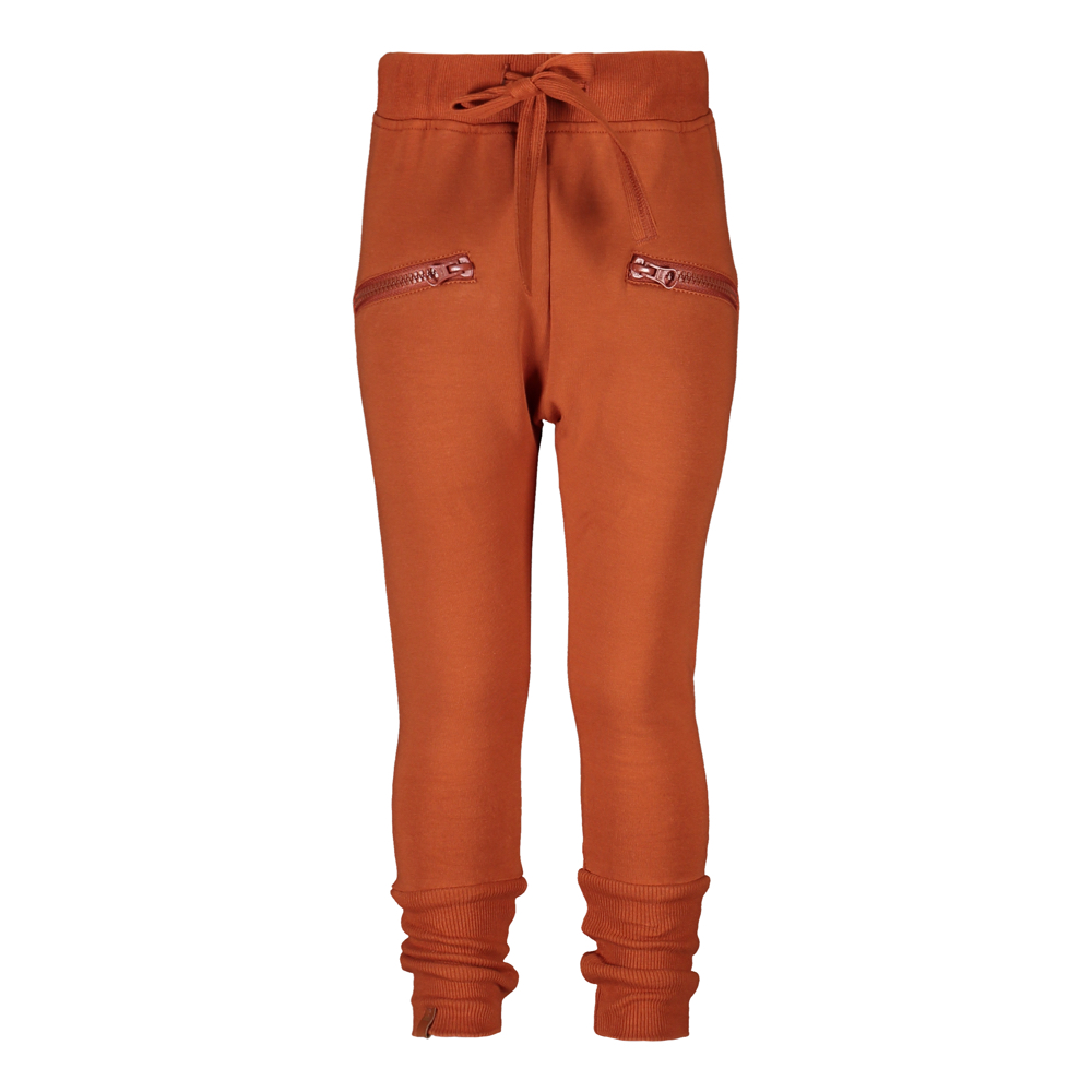 METSOLA ZIPPER PANTS, ROASTED PECAN