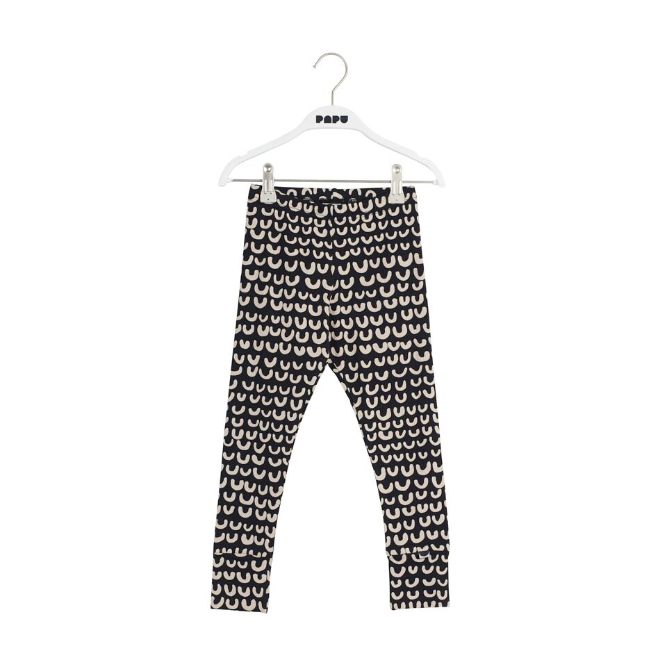 PAPU LOOP LEGGINGS, BLK/CREAM