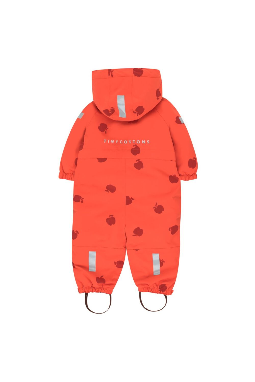 TINY COTTONS APPLES SNOW ONEPIECE, RED