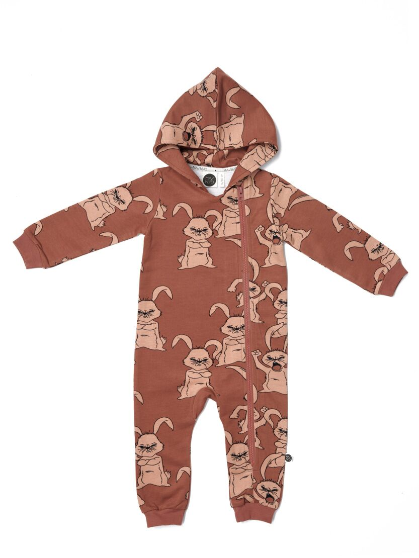 MAINIO HUBBUB HOODED JUMPSUIT