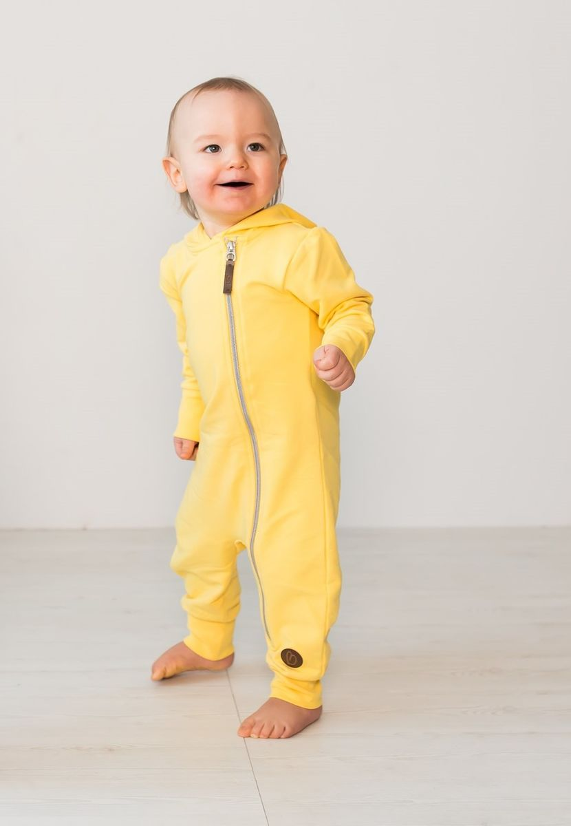 BLAA MILAN COLLEGE JUMPSUIT, GOLD YELLOW