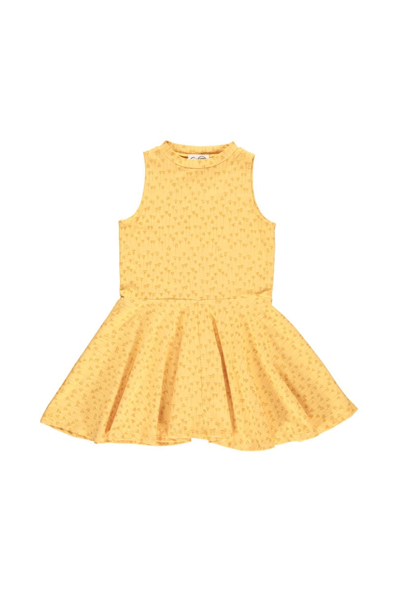 GRO COMPANY, EBBA SEA DRESS, YELLOW