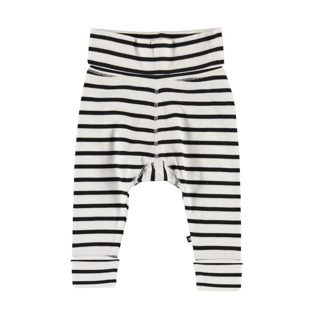 MOLO SON PANTS, BLACK STRIPE