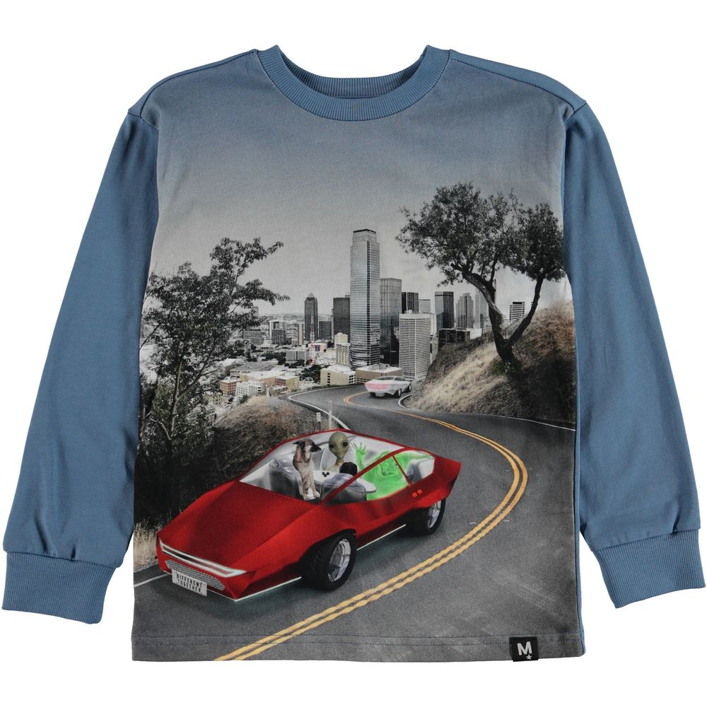 MOLO RISCHI LS SHIRT, SELF DRIVING CAR